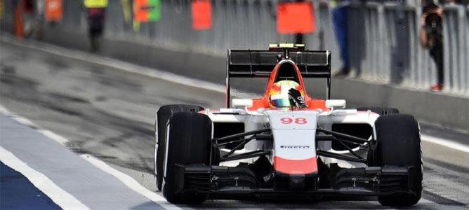 """Roberto Merhi: """"Ojalá confíen de nuevo en mí para el GP de China"""""""