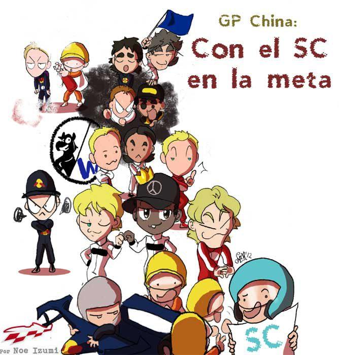 Los Chibis (163): Con un SC en la meta