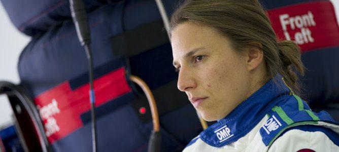 """Simona de Silvestro rechaza la competición femenina de Ecclestone: """"No es la forma de proceder"""""""