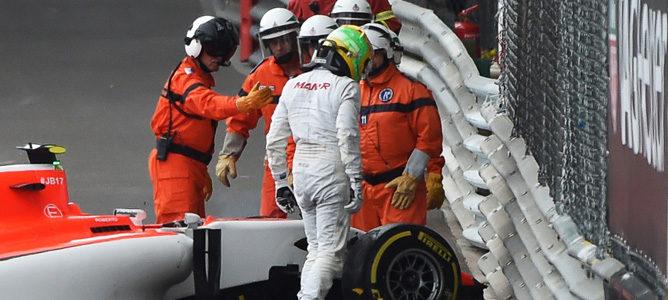 Roberto Merhi piensa que su diferencia de peso con Stevens le perjudica