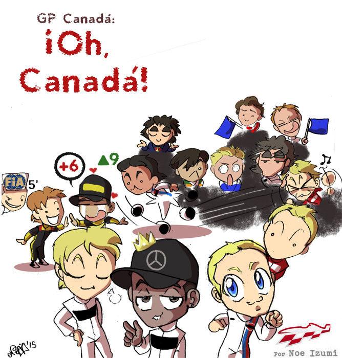 Los Chibis (167): ¡Oh Canadá!