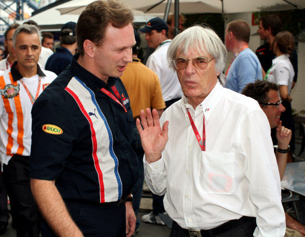 Horner confía en Vettel y Buemi