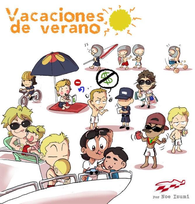 Los Chibis (172): Vacaciones de verano