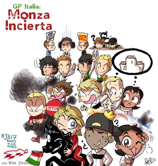 Los Chibis (174): Monza incierta