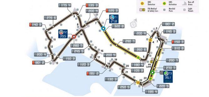 Circuito Callejero De Marina Bay : Previa del gp de singapur yvke mundial