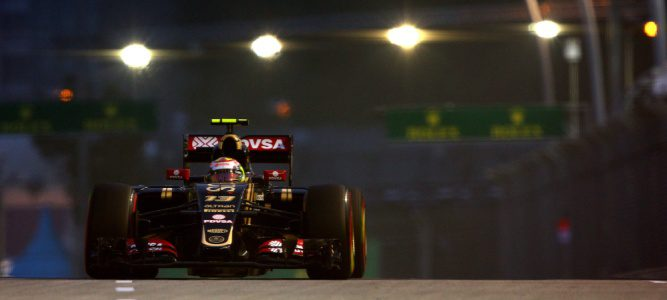 El equipo Lotus confirma a Pastor Maldonado para 2016