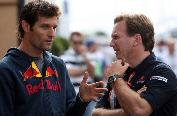 Mark Webber espera subirse al RB5 en febrero