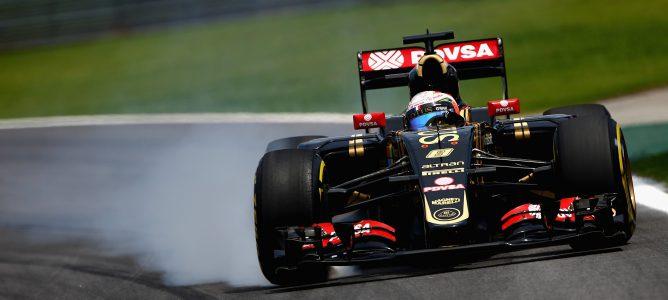 """Romain Grosjean: """"El coche parecía ir bien en la Q1 , tenemos que mirar qué ha sucedido"""""""