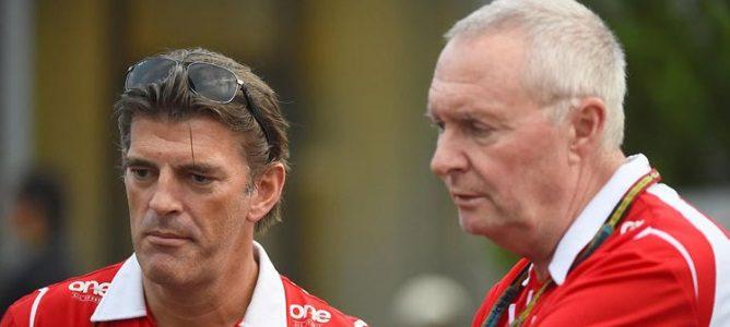 John Booth defiende la elección de Jordan King y Rio Haryanto para el test en Abu Dabi