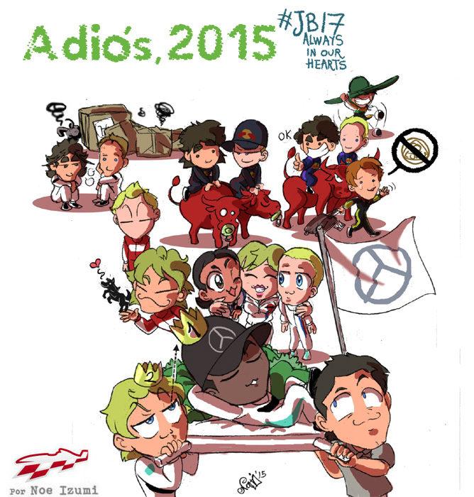 Los Chibis (183): Adiós, 2015