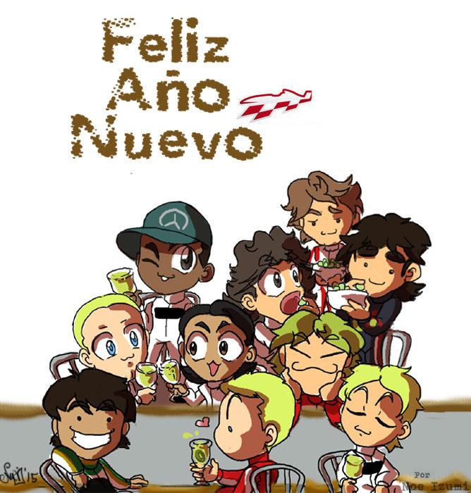 Los Chibis (185): ¡Feliz Año Nuevo!