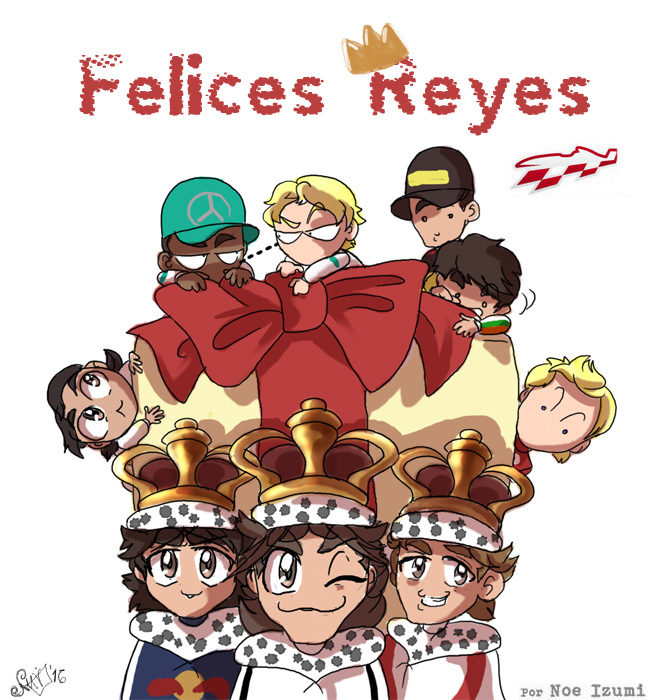 Los Chibis (186): ¡Felices Reyes!