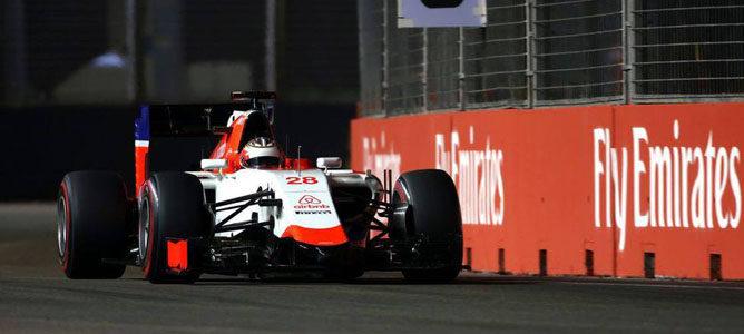 El chasis de Manor para 2016 pasa los 'crash-test' de la FIA