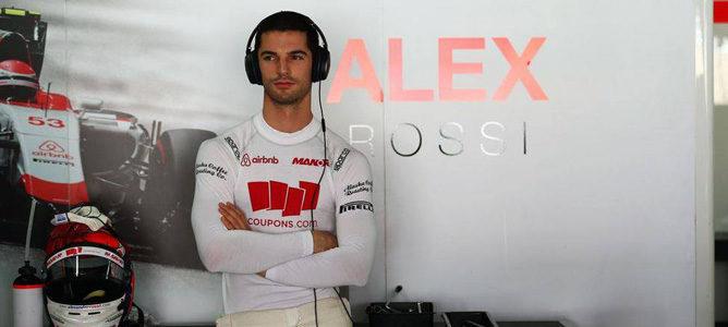 """Alexander Rossi: """"Terminé 2015 muy confiado con mis posibilidades y es decepcionante"""""""