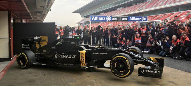 Renault presenta el monoplaza con el que vuelve a la Fórmula 1 como equipo oficial en 2016