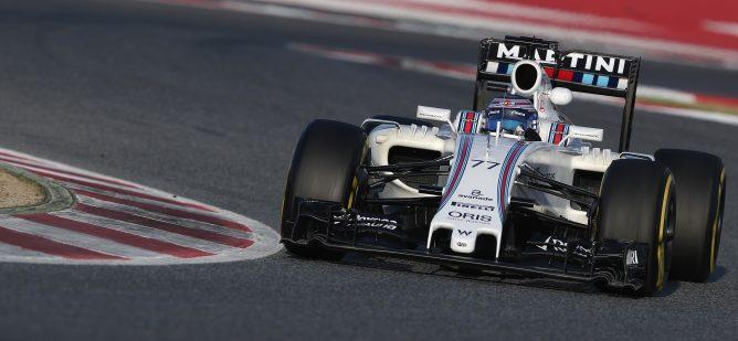 Valtteri Bottas termina el sexto día de test en Barcelona como el piloto más veloz