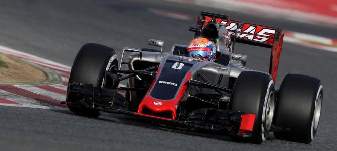 """Romain Grosjean: """"Creo que para ser un equipo nuevo, hemos impresionado a todo el mundo"""""""