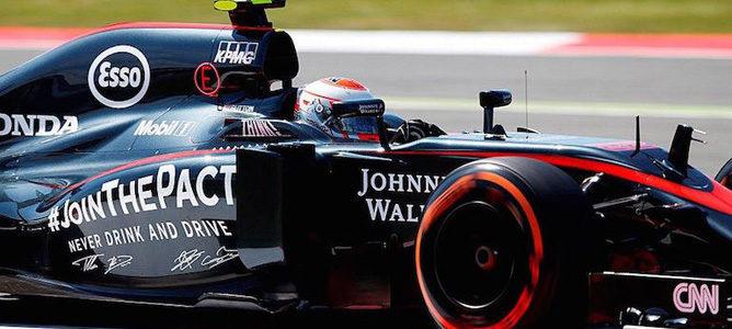 McLaren renueva su patrocinio con Johnnie Walker