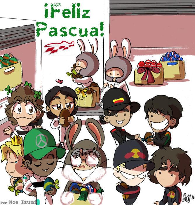 Los Chibis (189): ¡Feliz Pascua!