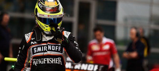 Sergio Pérez renueva y seguirá con Force India para la temporada de 2017