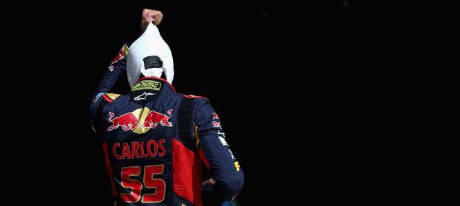 """Carlos Sainz, eufórico: """"¡Estoy tan feliz, no os lo podéis ni imaginar"""""""