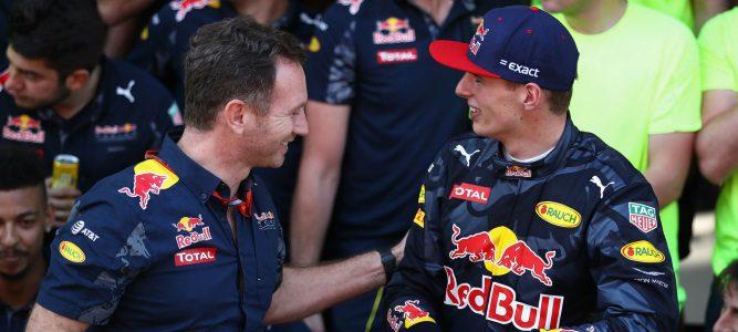 """Horner responde a Wolff: """"Que Rosberg luche por el título no es asunto de Verstappen"""""""