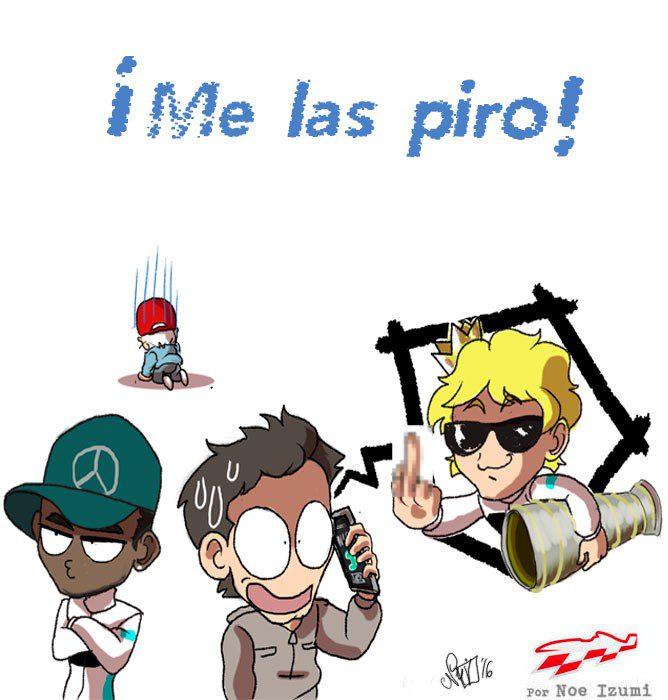 Los Chibis (215): ¡Me las piro!