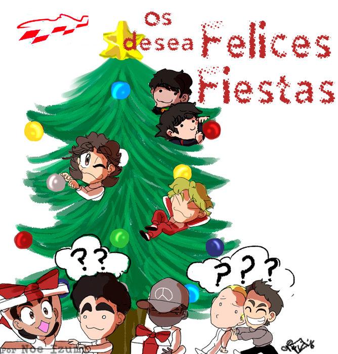 Los Chibis (216): ¡Felices fiestas!