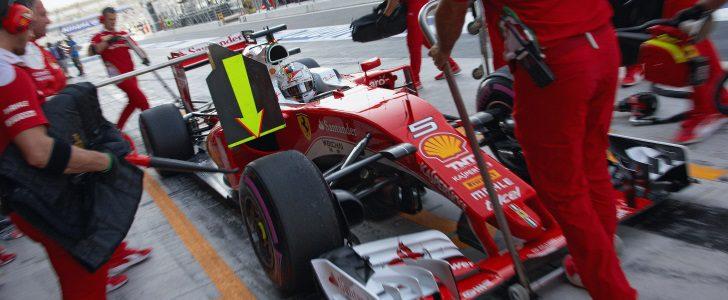 Sebastian Vettel en Abu Dabi