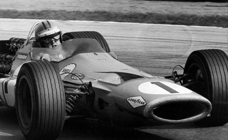 Denny Hulme en el GP Italia 1968