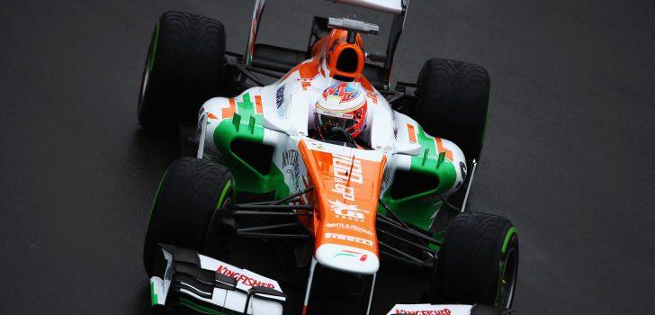Di Resta en su etapa en Force India