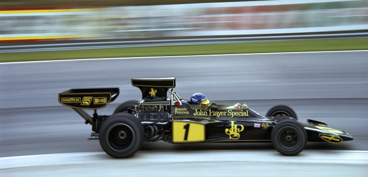 Ronnie Peterson en 1974