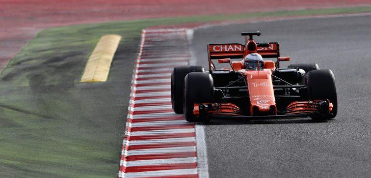 Alonso 3º día test