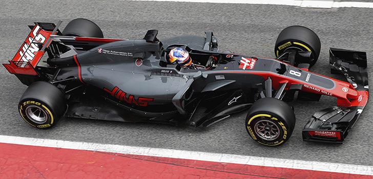 Las dos banderas rojas evitaron que Grosjean completara las 100 vueltas
