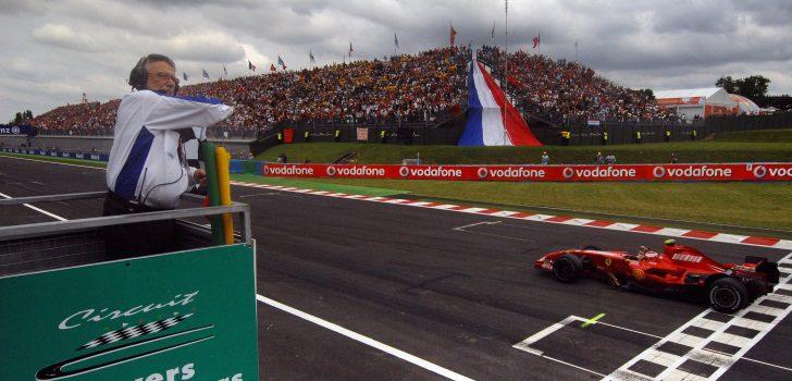 Kimi Raikkonen ganando el GP Francia de 2007