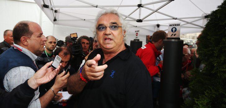 Flavio Briatore en el paddock