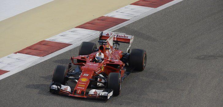 Sebastian Vettel Baréin 2017