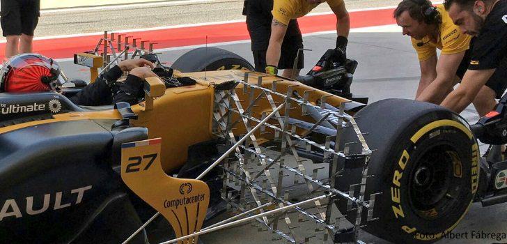 Paneles de sensores en el RS17
