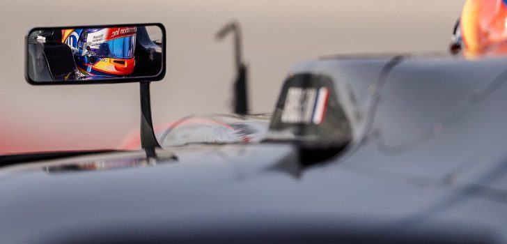 Grosjean a los mandos del VF17