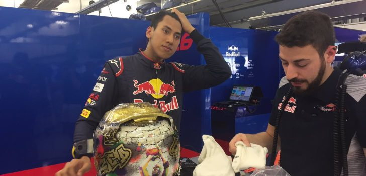 Sean Gelael STR12 test Baréin