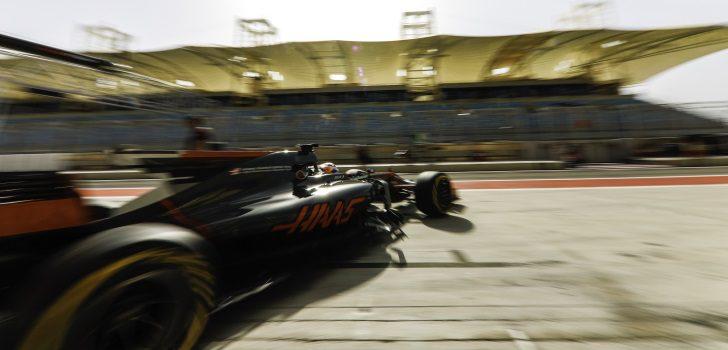 Grosjean test Baréin 2017