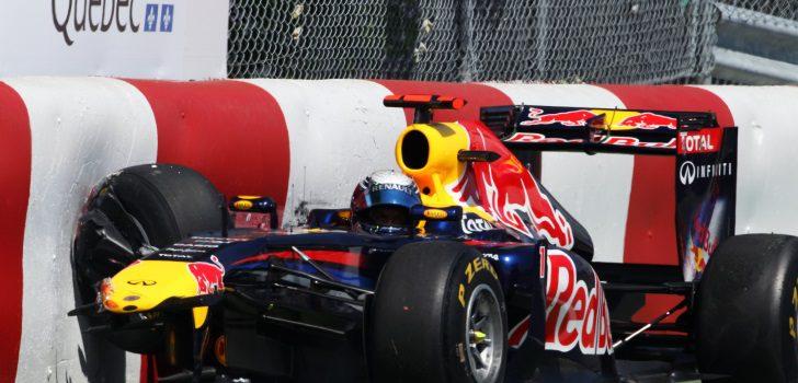 Sebastian Vettel, contra el muro de los campeones en 2011