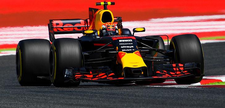 Verstappen clasificación España 2017
