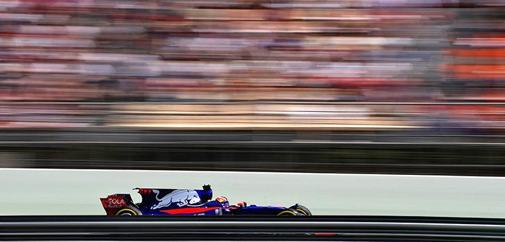 Toro Rosso carrera GP España 2017
