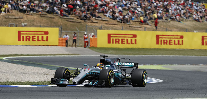 Lewis Hamilton - Carrera Barcelona 2017