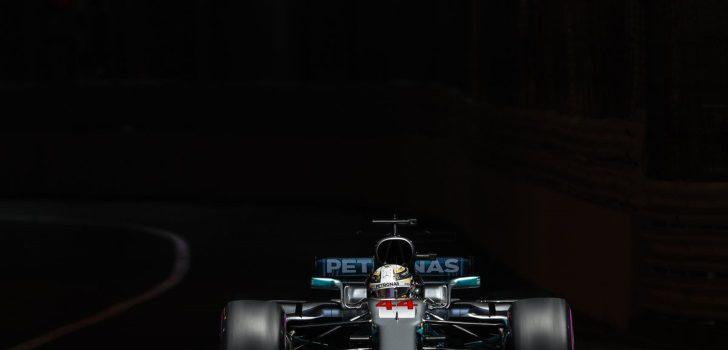 Hamilton, durante el pasado GP de Mónaco)