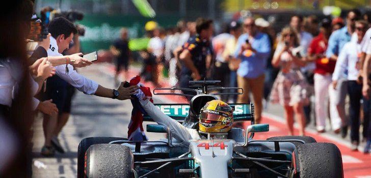 Hamilton, tras ganar en Canadá