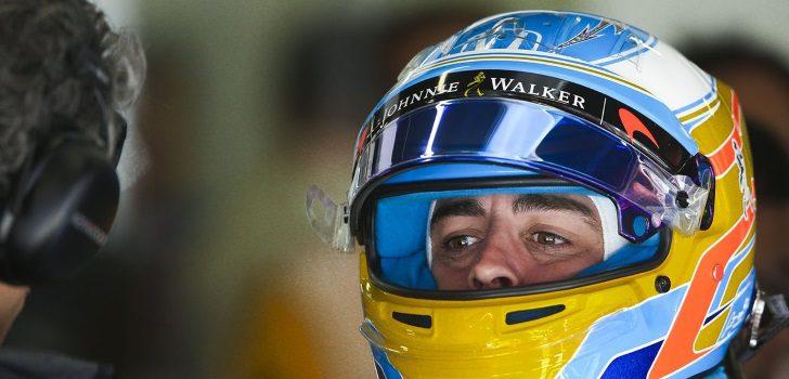 Fernando Alonso durante el GP de Canadá