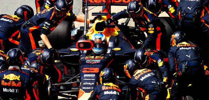 Ricciardo, durante el GP de Canadá