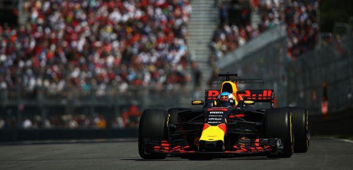 Daniel Ricciardo en Canadá